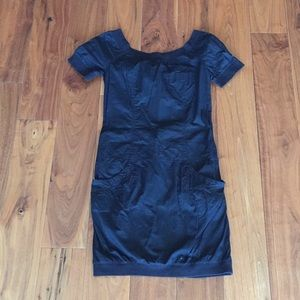 French Connection black shirt dress size 0